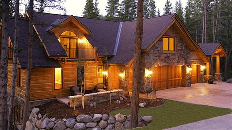 log home design plan and kits for chimney rock