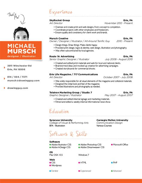 freelance graphic design resume sle skill resume web design resumes template exle