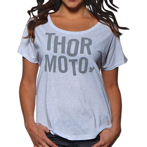 Tshirt Thor Mx t shirt thor mx crush white femme 2016 fx motors
