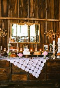 Unique Buffet Tables Creative Buffet Table Ideas Rustic Dessert Table With