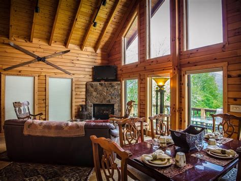 luxury log cabin for two to six w tub homeaway