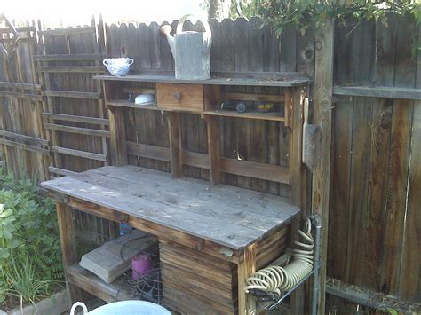 rustic potting bench outdoor potting bench babytimeexpo furniture