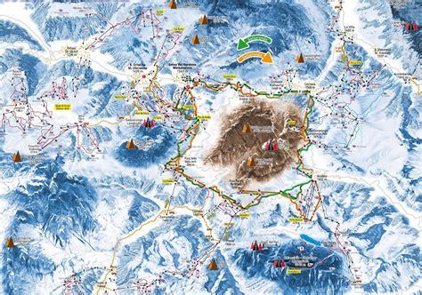 sella accedi sella ronda ski map