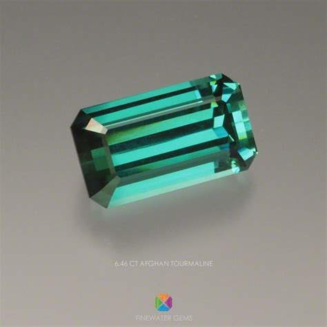2 13ct Green Tourmaline Top Colour 6 46 ct afghan tourmaline