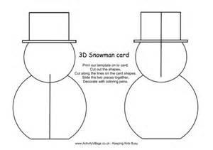 3d Card Templates by 3d Snowman