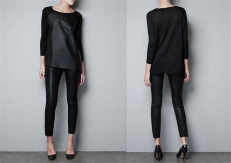 aliexpress zara shirt aliexpress zara leather black loose fit sweater