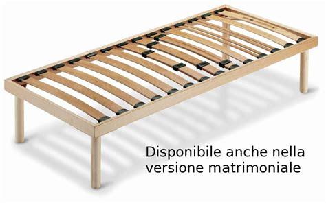 reti letto legno rete letto in legno fissa ortopedica con doghe regolabili
