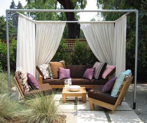 Backyard Canopy Diy by Eye On Design Stealing Home Eye On Design By Dan Gregory