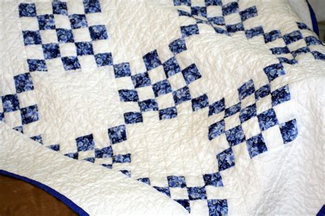 Blue And White Quilt Just Plain Blue And White Quilt
