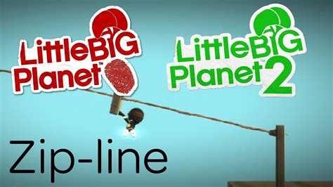 how to make a zip line for your backyard make a zip line littlebigplanet 2 vita youtube