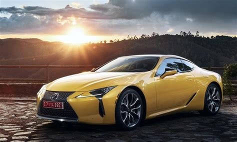 2019 Lexus Lc by 2019 Lexus Lc Yellow Edition Top Speed