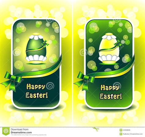 happy green color set happy easter in green color royalty free stock photo