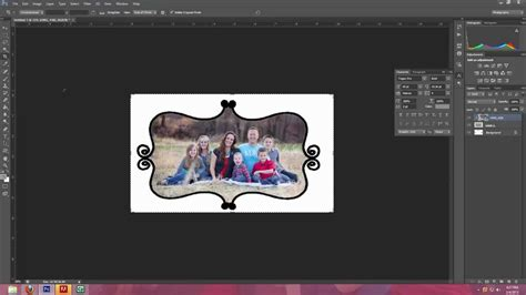 illustrator tutorial for photoshop users how to use photoshop brushes to make frames and borders in