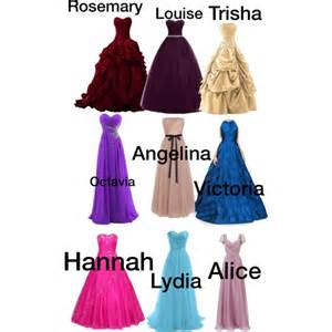 yule ball dresses polyvore