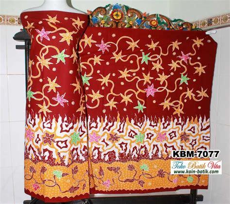 Kain Batik Katun Motif Madura batik madura tiga motif kbm 7077 kain batik murah