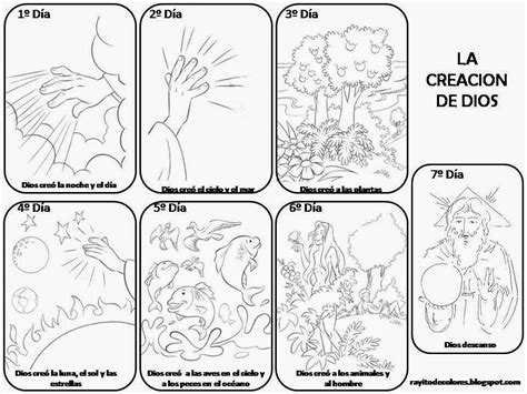 imagenes biblicas de la creacion 1000 images about clases biblicas on pinterest coloring
