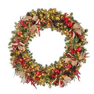 beautiful large pre lit christmas wreaths best selection