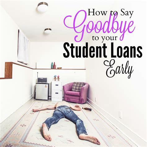 How To Get Education Loan For Mba by How To Pay Student Loans Early Mba Sahm