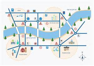 Map Template by City Map Free City Map Templates
