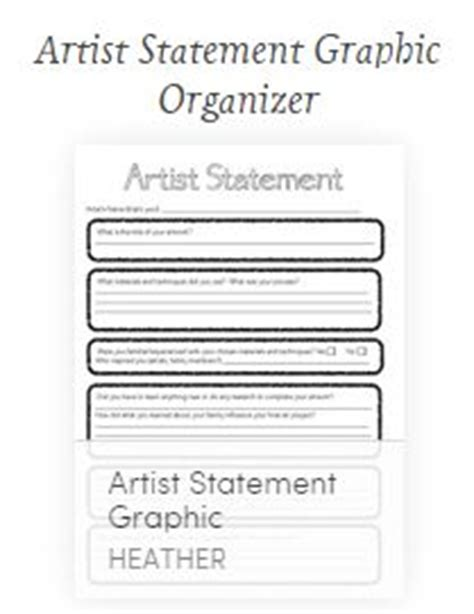 instant artist statement generator this could be a way to tackle deeper exploration of