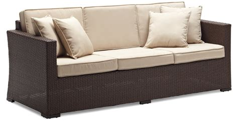 resin wicker sofa strathwood outdoor patio furniture buy cheap strathwood