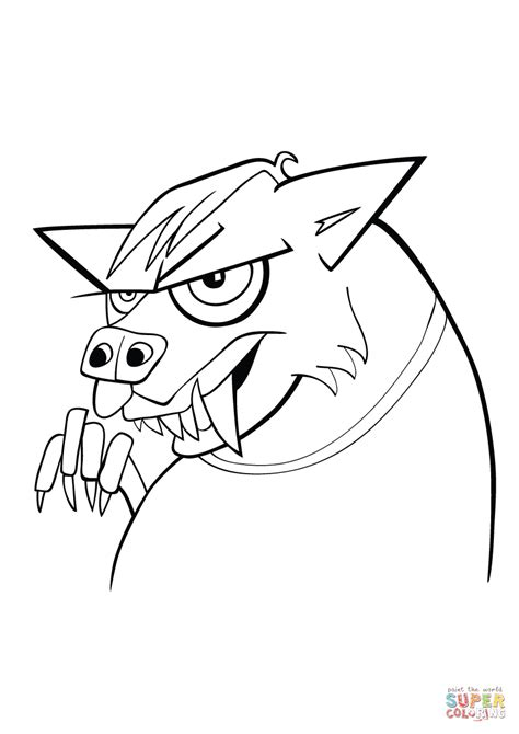 werewolf coloring pages online werewolf coloring sheet pages bestofcoloring werewolf