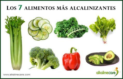 alkaline care las siete frutas  verduras mas alcalinas blog de alkaline care dieta  agua