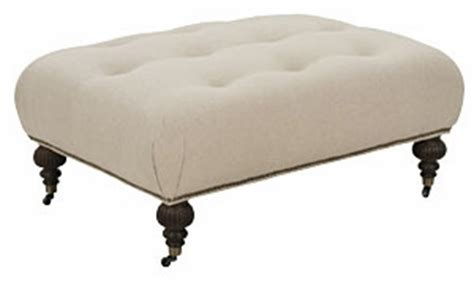ottoman legs with casters fabric tufted ottoman coffee table with casters club