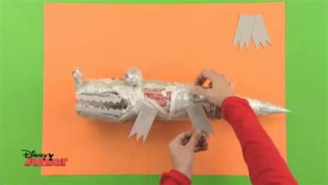 como hacer un dinosaurio con botella de plstico patas cocodrilo 183 manualidades de papel