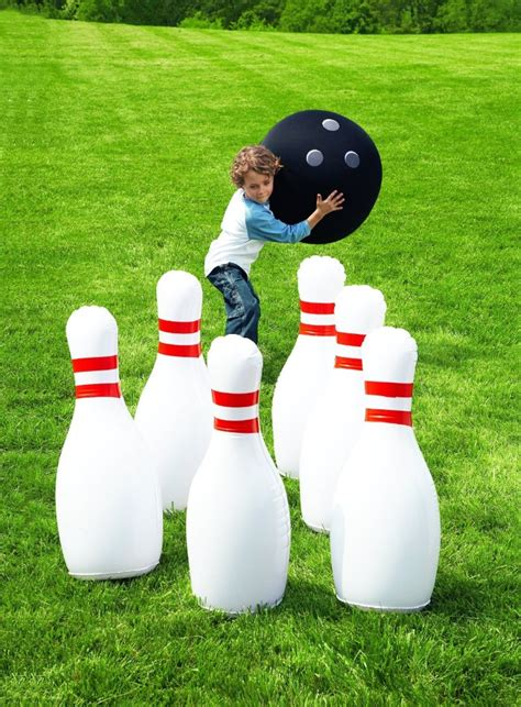 backyard bowling set 19 family friendly backyard ideas for making memories