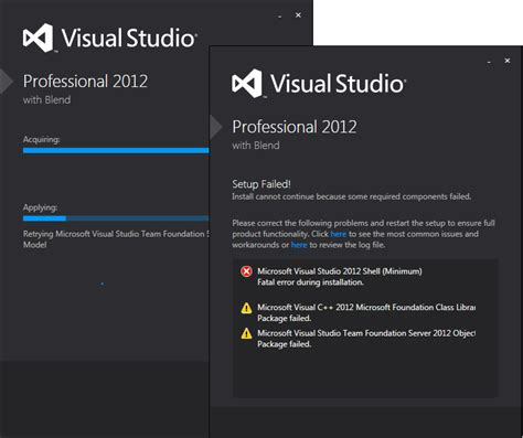 visual studio code reset settings visual studio 2012 pro trial installation from iso fails
