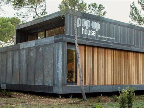pop up homes pop up house un nouveau concept r 233 volutionnaire