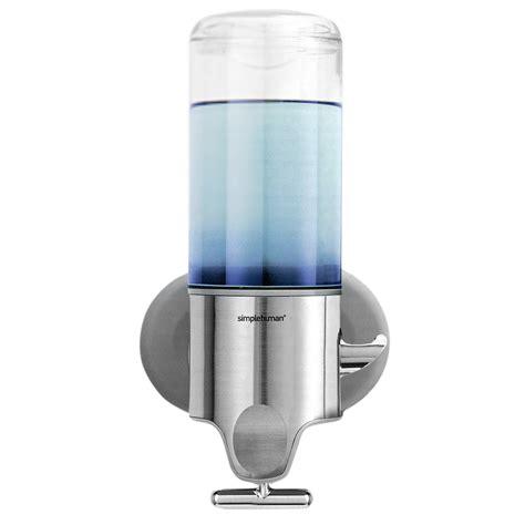 Simplehuman Shower Soap Dispenser by Simplehuman Single Shoo And Soap Dispenser S