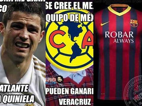 imagenes del real madrid y america am 233 rica real madrid y barcelona protagonizan los memes de
