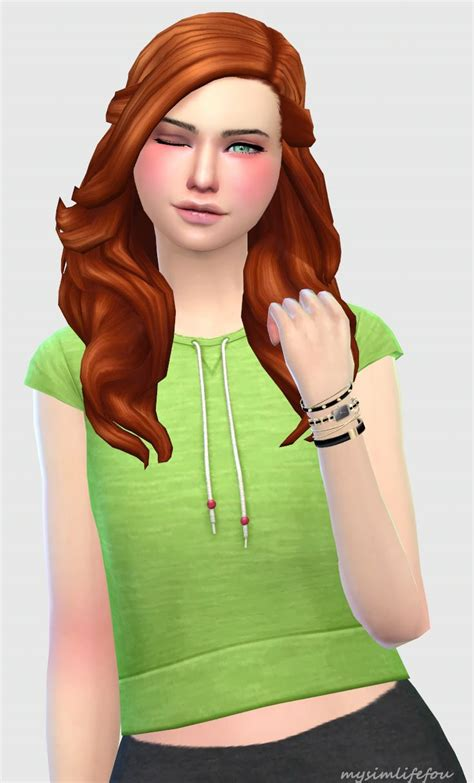download hair and clothes for sims 4 ts4mm mysimlifefou when i was creating this top i was