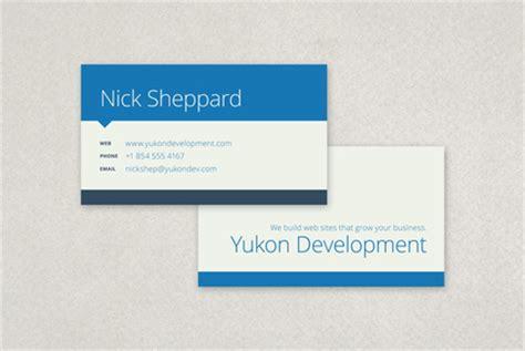 flat design business card template flat design business card template inkd