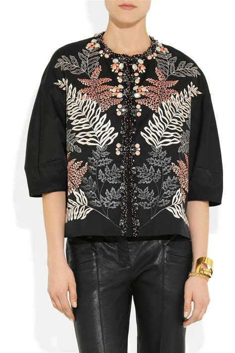 Biyan Top In Blush biyan embellished embroidered taffeta jacket