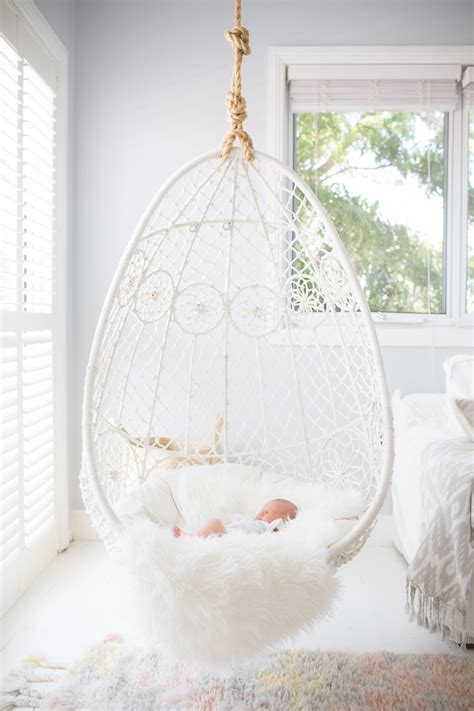 hanging chairs for bedrooms white hanging chair for bedroom