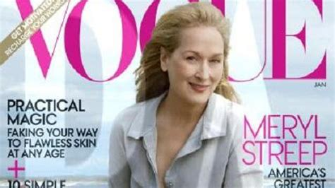 The Meryl Streep Covers Vogue by Meryl Streep Discovers She S In Vogue
