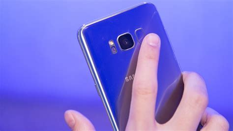 Samsung S8 Ultimate Real Fingerprint Infinity Display the galaxy s8 s fingerprint sensor will send you into a rage spiral