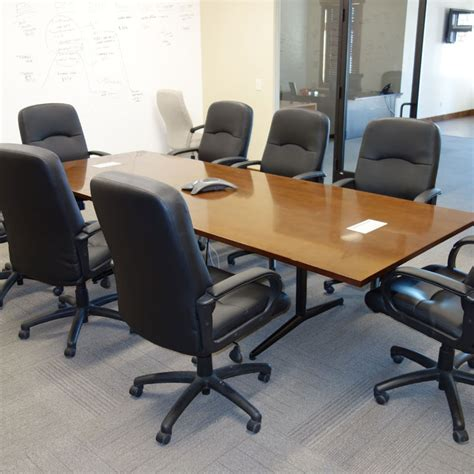 Allsteel Conference Tables Allsteel 10 Veneer Conference Room Table Workplace Partners