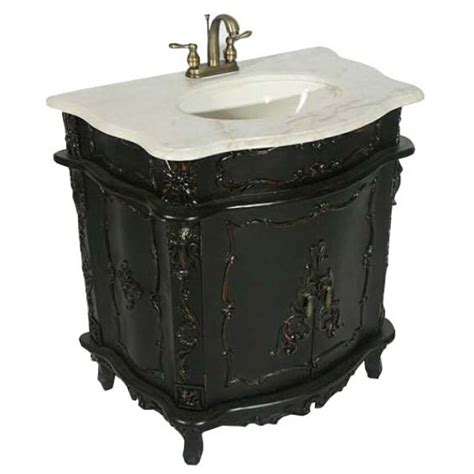 Black Antique Vanity by Antique Black Noir Sink Cabinet Vanity Unit Noir Boudoir