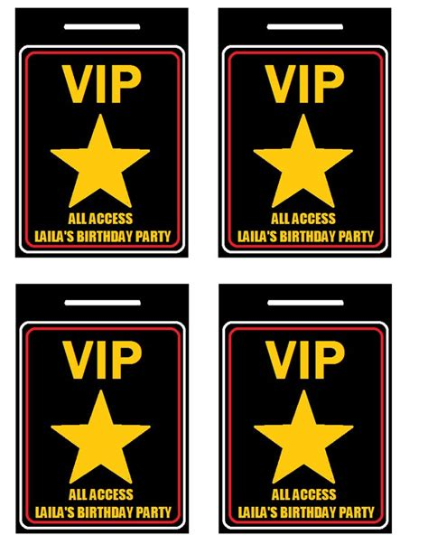 32 best vip ticket pass template designs for your events