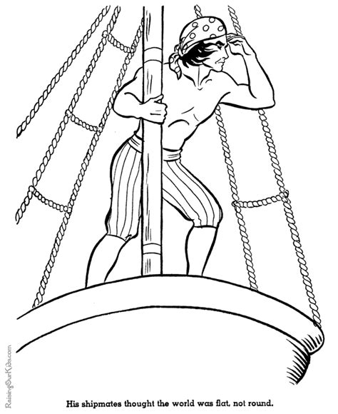 coloring pages of the nina pinta santa maria us history coloring pages discovery of america