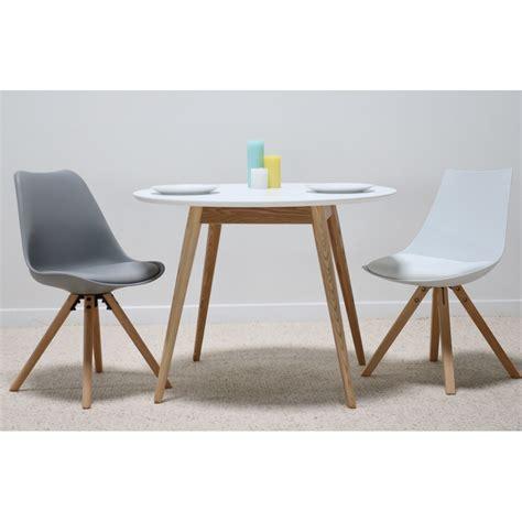 Table à Manger Scandinave by Lena Blanc Table 224 Manger Ronde 100 Cm En Bois Au Design