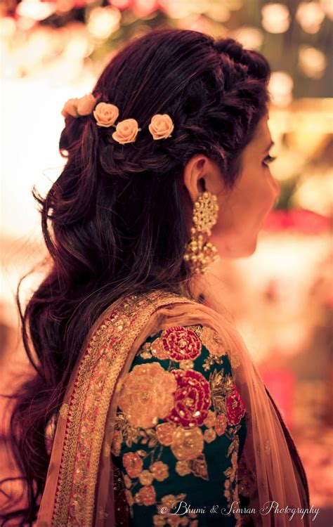 indian hairstyles with lehenga the best hairstyles we ve loved on brides in 2016