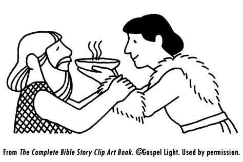jacob and esau reconcile coloring page free coloring pages jacob and esau coloring home