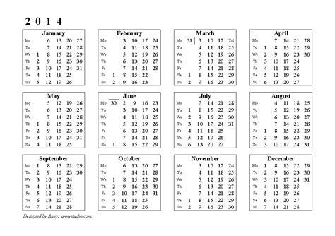 2014 calendar template australia free printable calendars and planners 2018 2019 2020