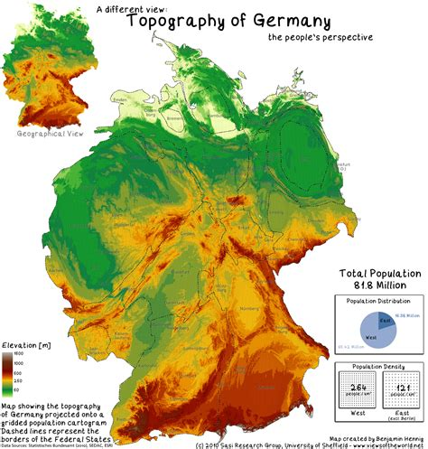 germany geographical map physical landscapes of germany rizqi dzikrullah