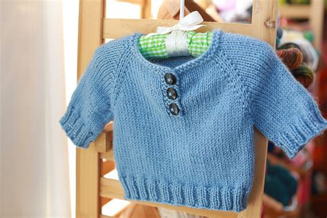 simple baby sweater to knit simple knitted baby pullover free knitting pattern